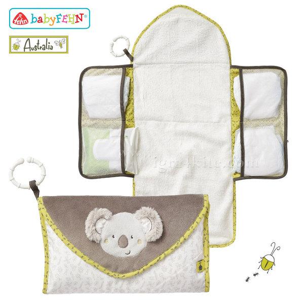 Baby Fehn Australia - Подложка за повиване с джобчета Коала 064247
