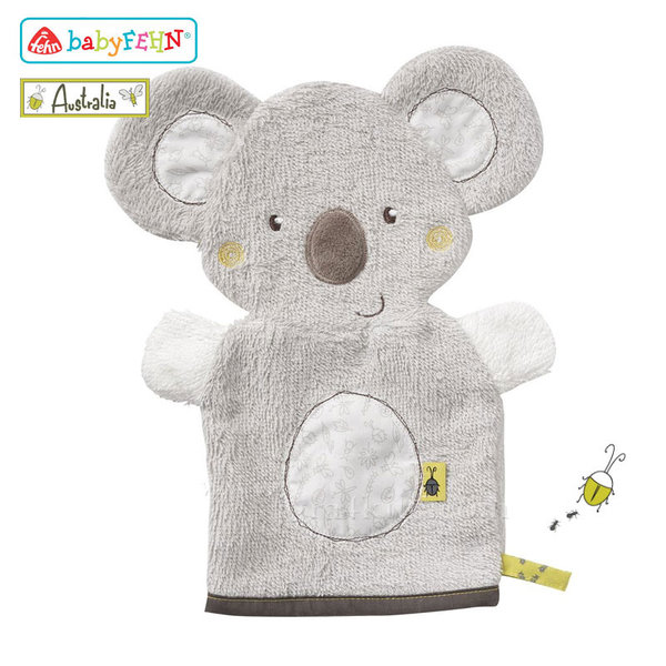 Baby Fehn Australia - Бебешка ръкавица за баня Коала 064186