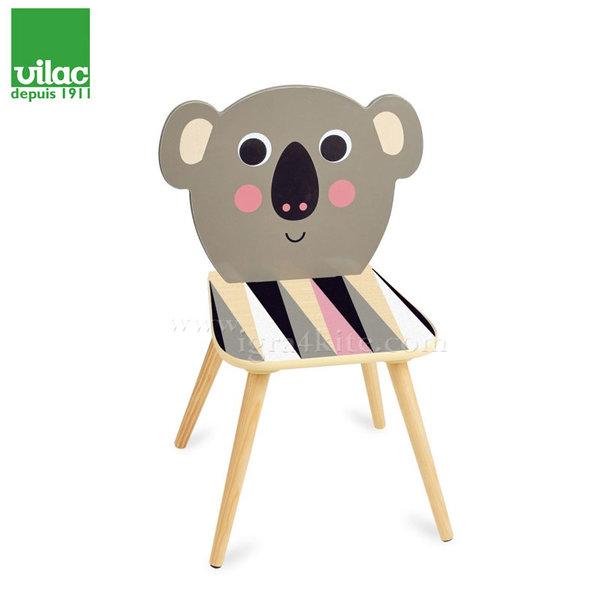 Vilac - Детско дървено столче Коала 7744