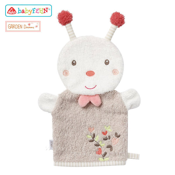 Baby Fehn Garden Dreams - Бебешка ръкавица за баня Пчеличка 068535