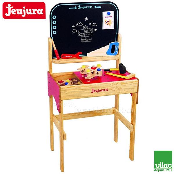 Jeujura - Дървена работилница с черна дъска J8594