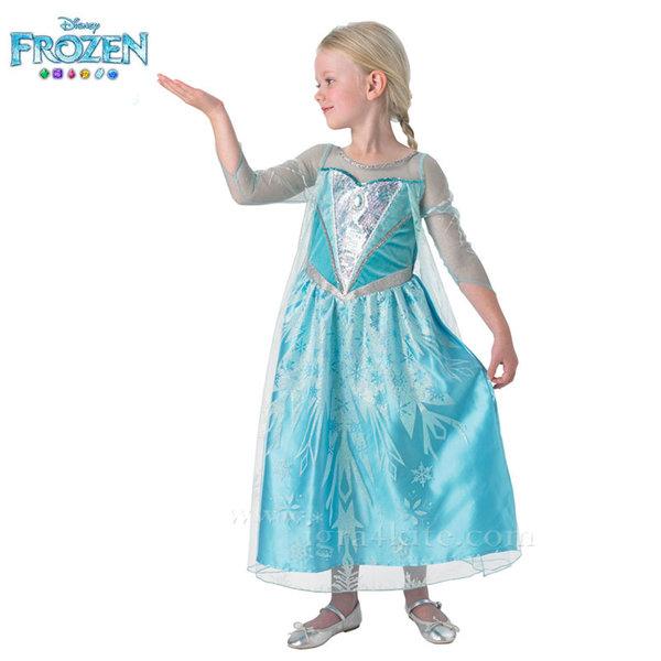 Детски карнавален костюм Disney Frozen Елза 610374
