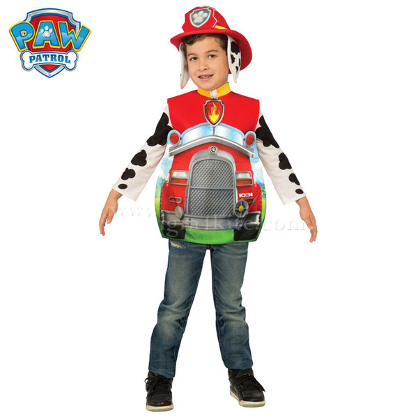 Детски карнавален костюм Paw Patrol Маршал 610797