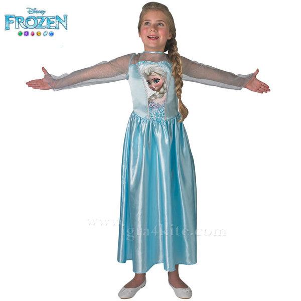 Детски карнавален костюм Disney Frozen Елза 610494