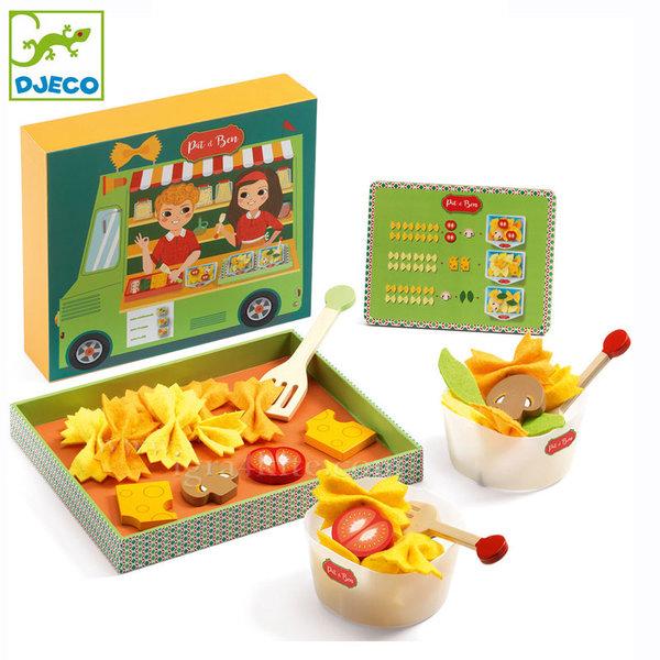 Djeco - Дървена играчка Да направим паста DJ06535