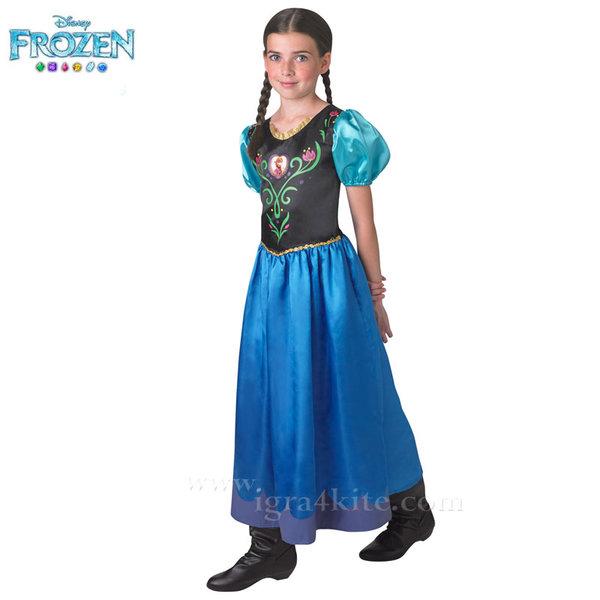 Детски карнавален костюм Disney Frozen Анна 610495
