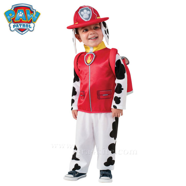 Детски карнавален костюм Paw Patrol Маршал 610501