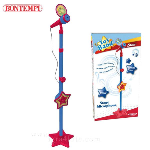 Bontempi - Детски микрофон на стойка 191297