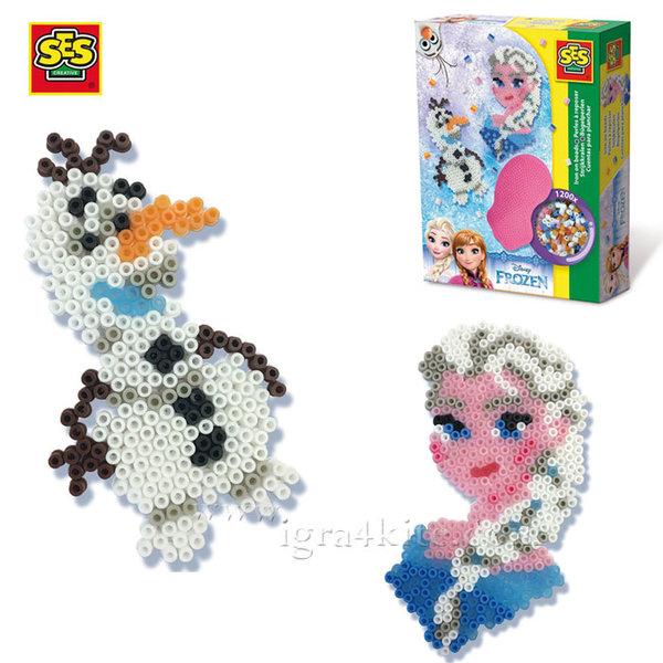 SES Creative Beedz - Disney Frozen Мозайка с мъниста Замръзналото кралство 14734