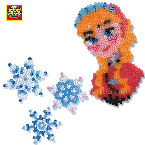 SES Creative Beedz - Disney Frozen Мозайка с мъниста Замръзналото кралство 14736