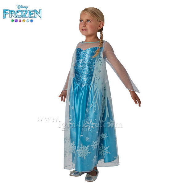 Детски карнавален костюм Disney Frozen Елза 620975