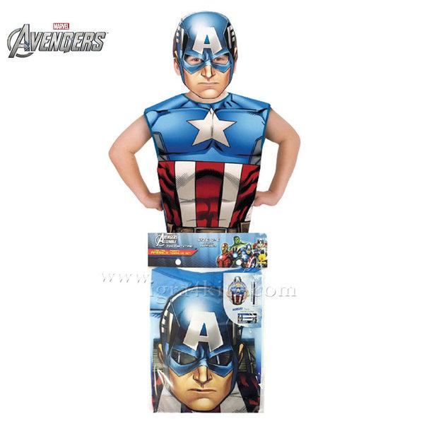 Детски карнавален костюм Captain America 620971