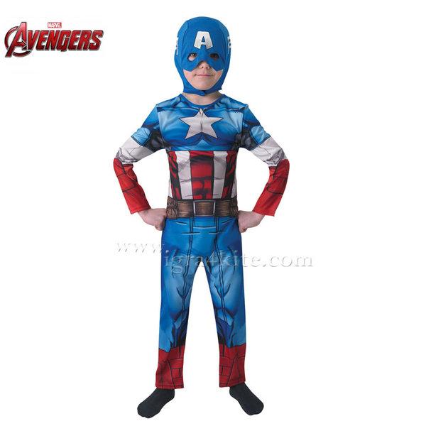Детски карнавален костюм Captain America 610261