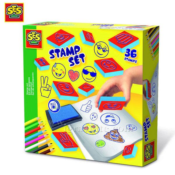 SES Creative - Комплект печати Емотикони 14961