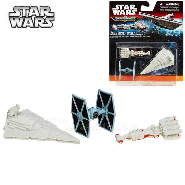 Hasbro Star Wars - Комплект 3 бойни кораба от Междузвездни войни Imperial Pursuit b3500