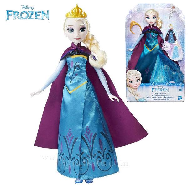 Disney Frozen - Кукла Елза с две рокли b9203