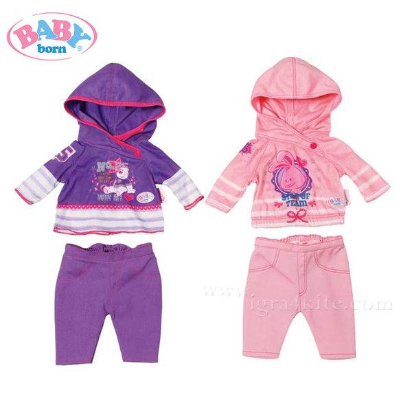 Baby Born - Комплект спортни дрешки за кукла 822166