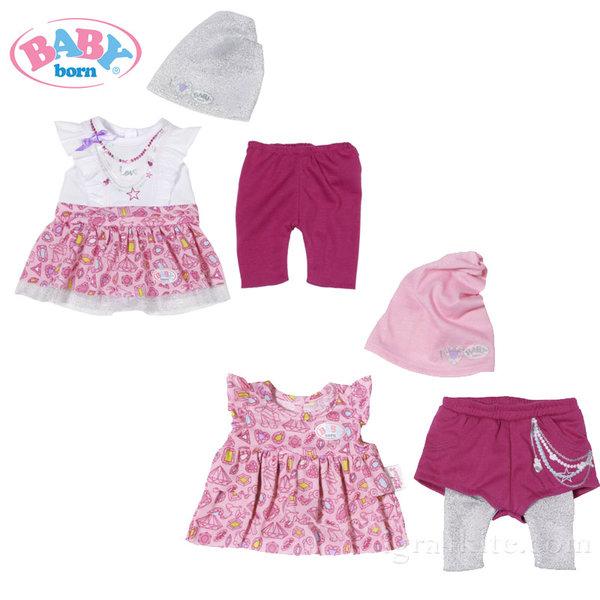 Baby Born - Комплект модни дрешки за кукла 822180