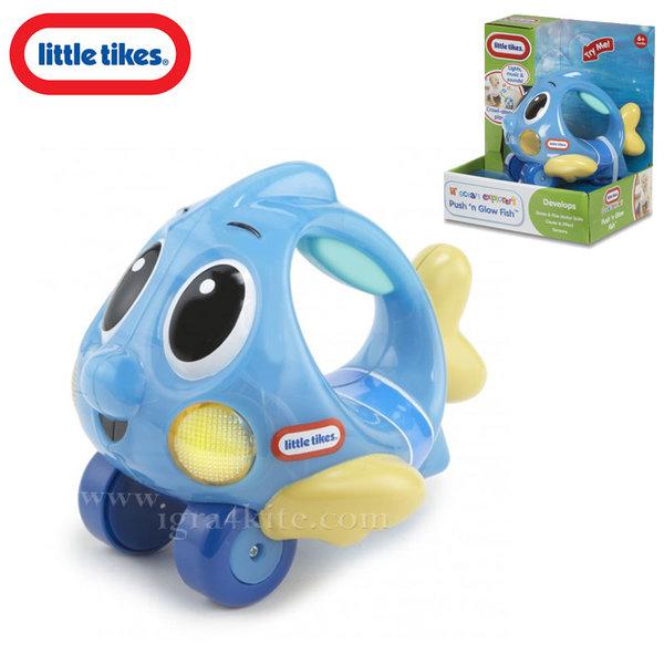 Little Tikes - Светеща музикална рибка синя 638527Е4C