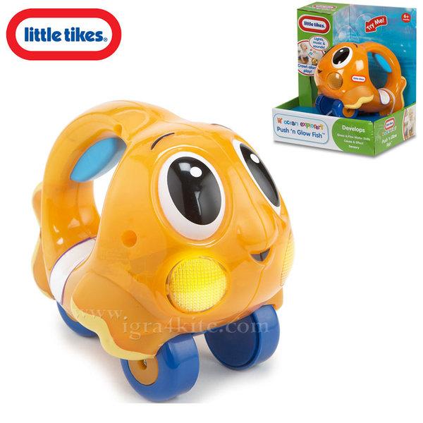 Little Tikes - Светеща музикална рибка оранжева 638527Е4C