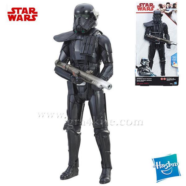 Hasbro Star Wars - Фигура със звук и светлина Imperial Death Trooper C1578