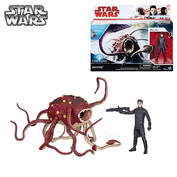 Hasbro Star Wars Force Link - Комплект с eкшън фигура Rathtar & Bala-Tik c1245