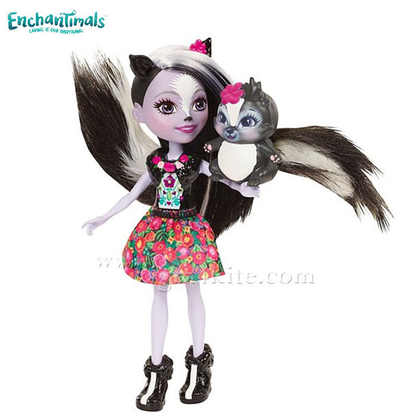 Enchantimals - Пазители на гората Кукла Скункс Sage Skunc dyc75