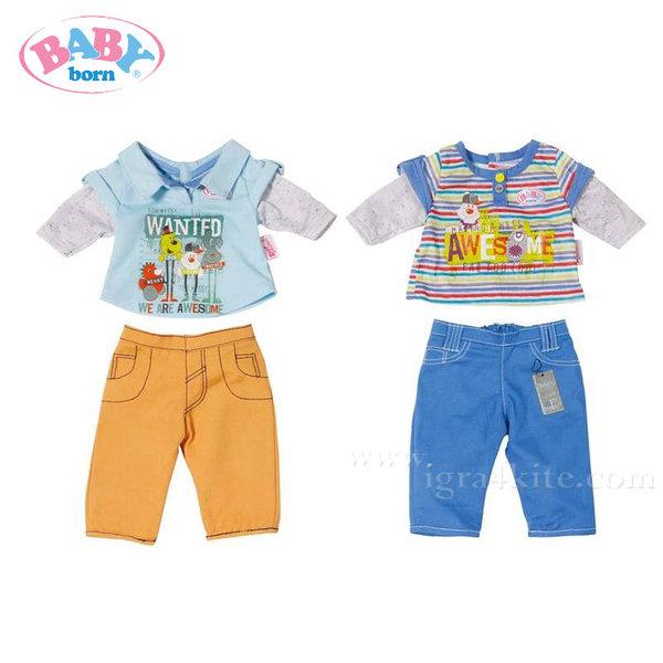 Baby Born - Комплект момчешки дрешки за кукла 822197