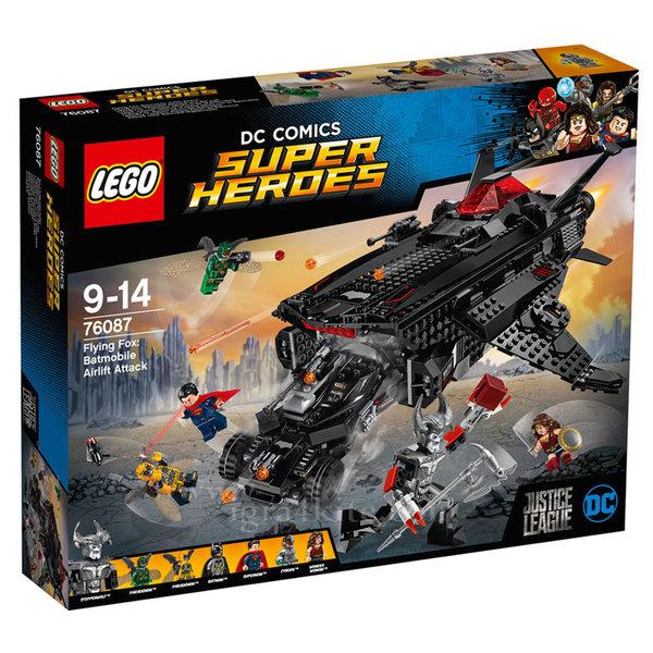 Lego 76087 Super Heroes - Летяща лисица: Въздушно нападение с Батмобил