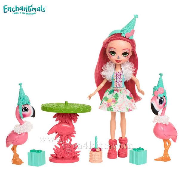 Enchantimals - Пазители на гората Игрален комплект Парти с фламинго fcc62