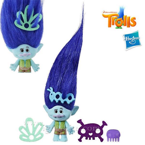 Trolls - Тролче Branch с дълга коса и аксесоари c1300