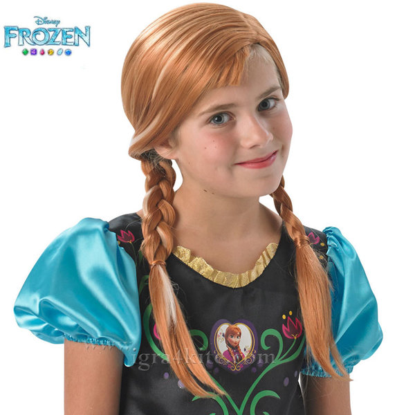 Детска перука Disney Frozen Анна 36172