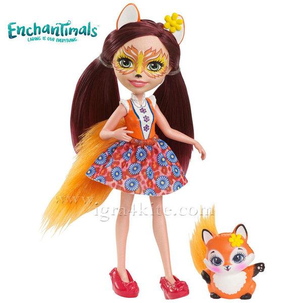 Enchantimals - Пазители на гората Кукла Лисица Felicity Fox dvh89