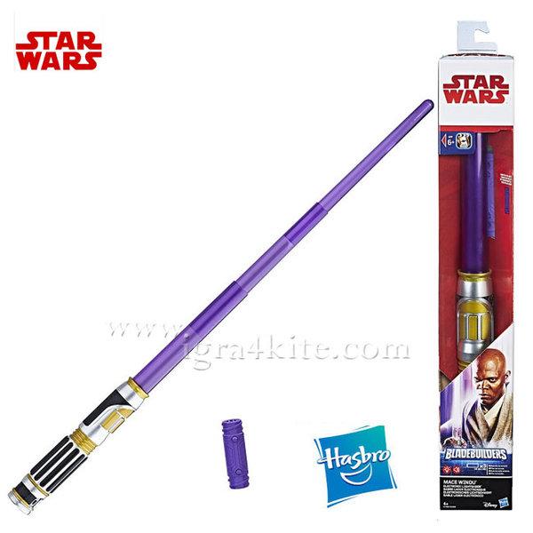 Hasbro Star Wars - Светлинен меч на Mace Windu c1568