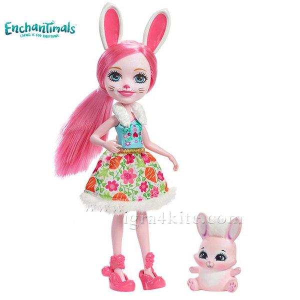 Enchantimals - Пазители на гората Зайче Bree Bunny dvh88
