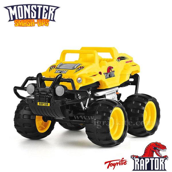 Monster Smash Ups - Чудовищна кола с дистанционно RAPTOR TY5873A