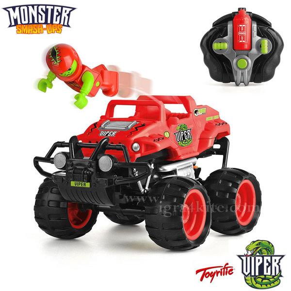 Monster Smash Ups - Чудовищна кола с дистанционно VIPER TY5873B