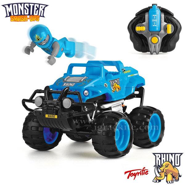 Monster Smash Ups - Чудовищна кола с дистанционно RHINO TY5873C