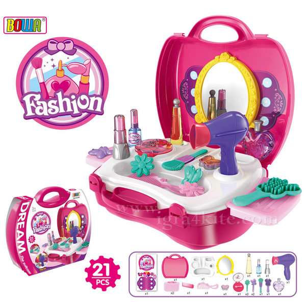 Bowa - Детско козметично студио в куфар 8228