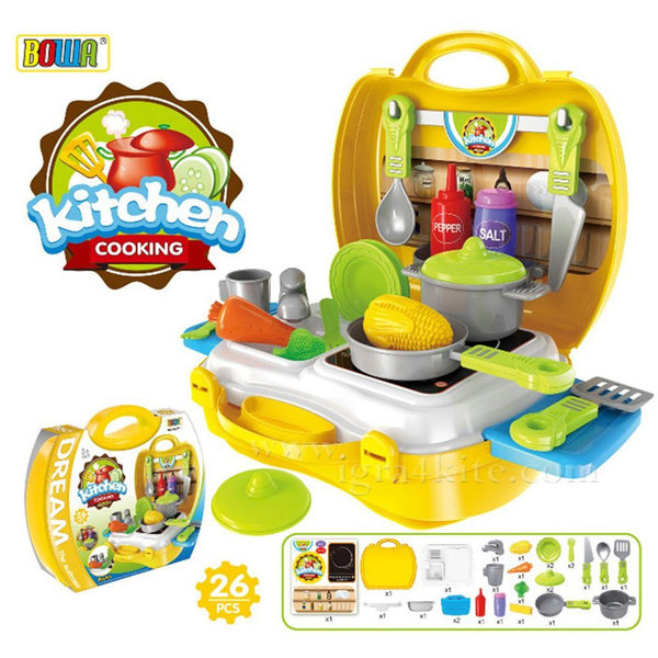Bowa - Детска кухня в куфар 8311