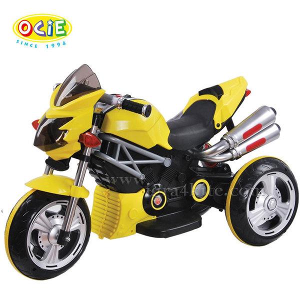 Ocie - Детски акумулаторен мотор Flame жълт 3120076
