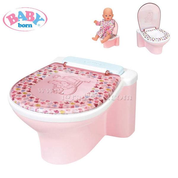 Baby Born - Тоалетна за кукла Бейби Борн със звукови ефекти 823903