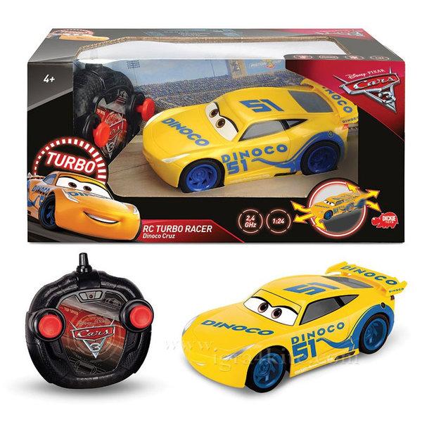 Simba Dickie - Кола с дистанционно управление Disney Cars Круз Рамирез 84004