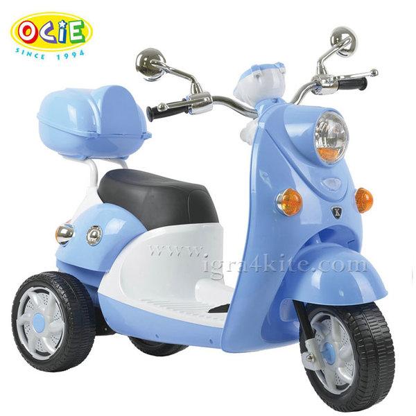 Ocie - Детски скутер с акумулатор QIKE син 3220020