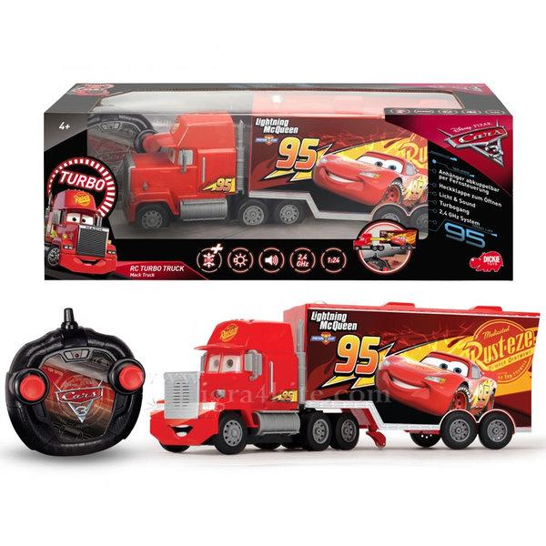 Simba Dickie - Камион с дистанционно управление Disney Cars Мак Трак 89025