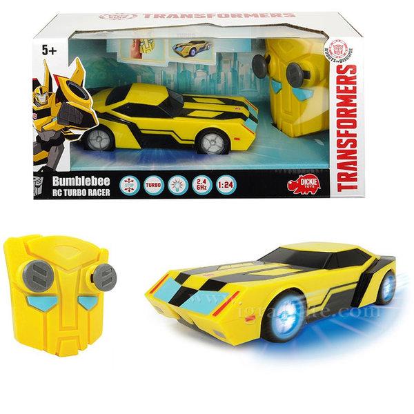 Simba Dickie Transformers - Трансформърс Кола с дистанционно управление Bumblebee 14000