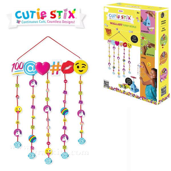 Cutie Stix - Декорация за стена Емотикони 33125