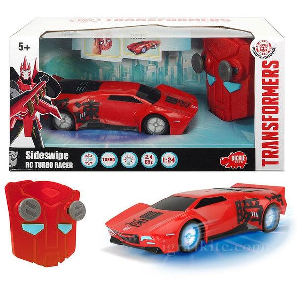 Simba Dickie Transformers - Трансформърс Кола с дистанционно управление Sideswipe 14001