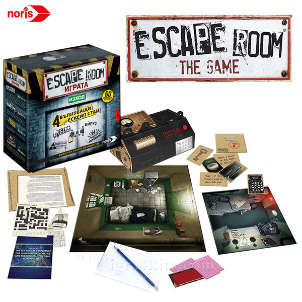 Noris - Настолна игра Escape Room Играта 46037