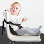 MiniMonkey - Текстилна седалка Minichair черна